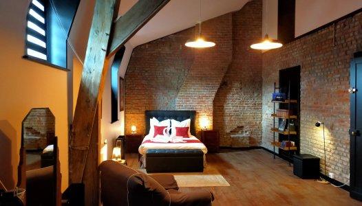 Luksusa divvietīga studija (1 gulta)