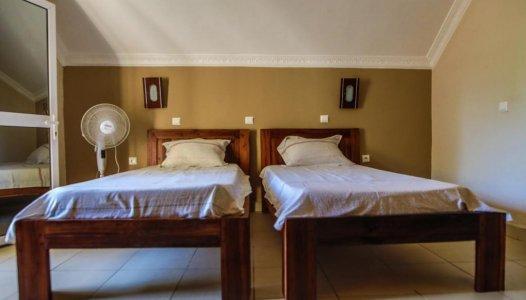 Divvietīgs numurs (2 gultas) ar skatu uz dārzu