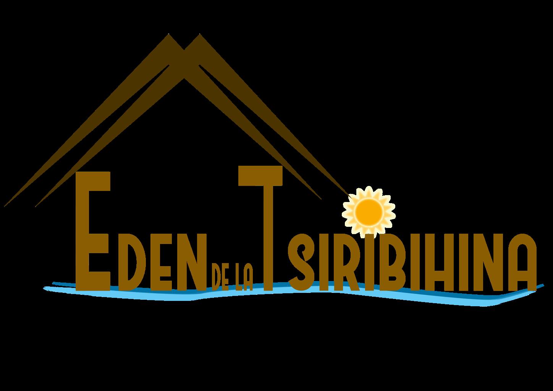 logo EDEN DE LA TSIRIBIHINA